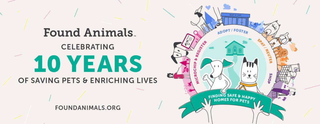 Michelson Found Animals celebrates 10 years