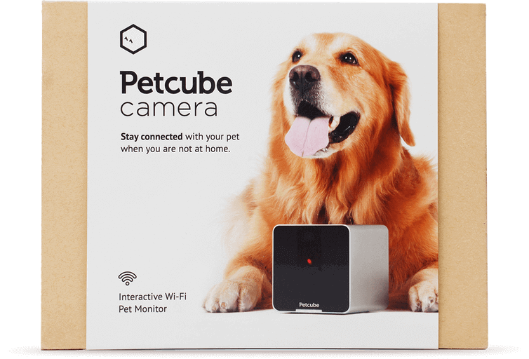 Front of PetCube Camera package